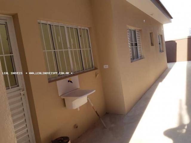 Casa para venda em presidente prudente, parque dos pinheiros, 2 dormitórios, 1 banheiro, 2 - Foto 9
