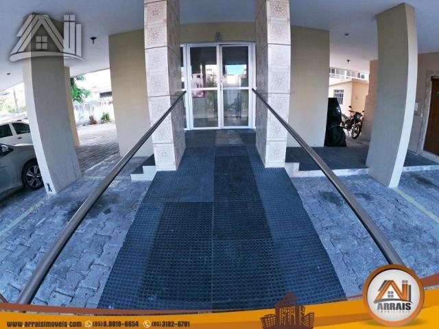 Vende apartamento com 3 quartos no bairro jacarecanga - Foto 2