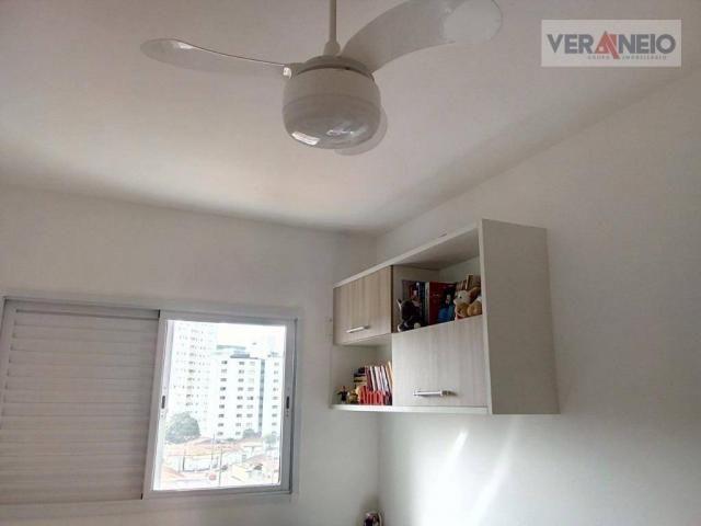 Apartamento com 2 dormitórios à venda, 73 m² por R$ 275.000 - Vila Guilhermina - Praia Gra - Foto 16
