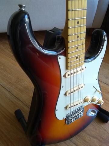 Guitarra Tagima 635 Brasil sunburst blindada - Foto 3