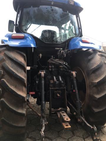 Trator new hollando 7060 - Foto 5