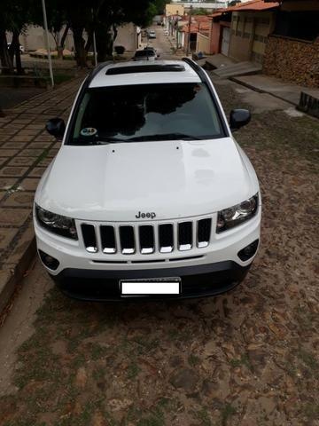 Jeep Compass Sport 2.0 + Banco de Couro/Central multimídia - Foto 5