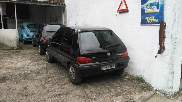 Peugeot 106 98/99 1.0 8 válvulas. Ar, vidros elétricos - Foto 6