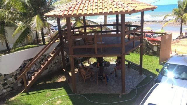 Vendo uma formosa casa, defronte ao mar, em JAUÁ (pé na areia) Valor R$450.000,00 - Foto 7