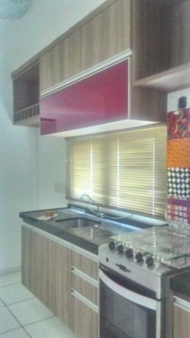 Casa Plana com Deck + Churraqueira + Chuveirão + Móveis projetados - 2 vagas - Pedras - Foto 5