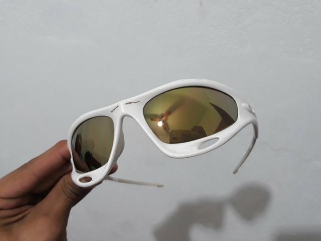 03880f580bd59 Óculos Oakley Racing Jacket Branco Pérola numerado - Bijouterias ...
