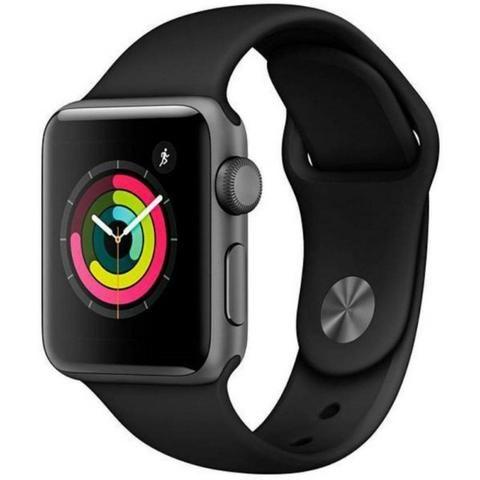 Apple Watch S3 (GPS) Caixa Alumínio 38mm pulseira esportiva - MTF02LL