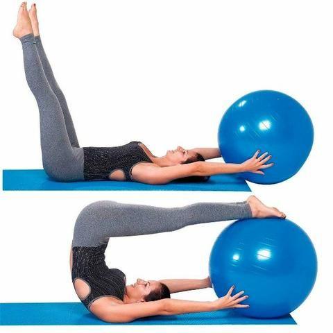 872de5366e Bola Suiça p  Pilates 65cm Azul - Premium - Ref.  Ls3222 65 Pr ...