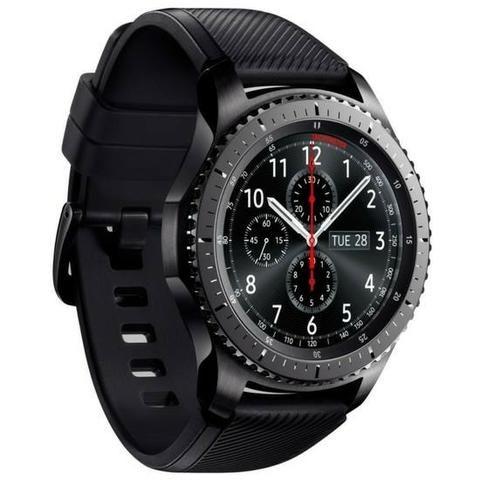 Relógio Samsung Gear S3 SM-R760 Frontier WiFi Bluetooth- Grafite