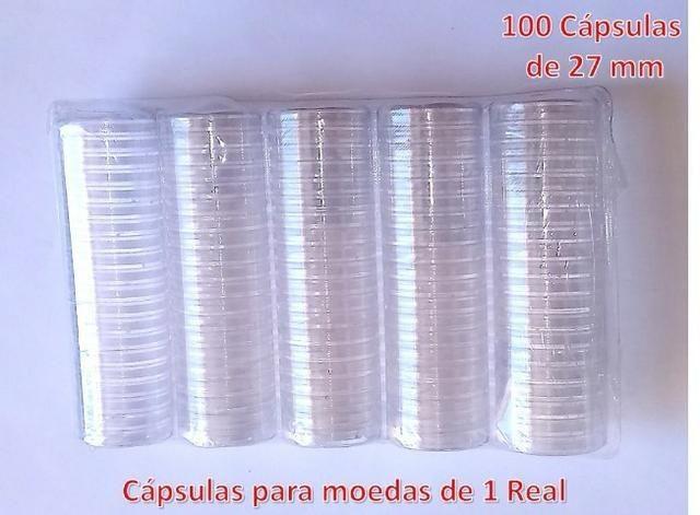 100 unidades - Cápsulas 27 mm