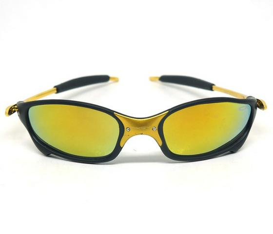 cd1defb12 Óculos de Sol Oakley Juliet X-Metal Dourado e Preto - Bijouterias ...