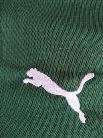 Camisa Puma Palmeiras Verde e Branca Modelo 2019 - Foto 6