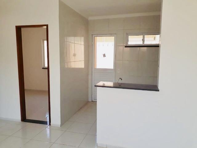 Casa com doc. gratis: 2 quartos , 2 bainheiros , com acabamento diferenciado - Foto 5