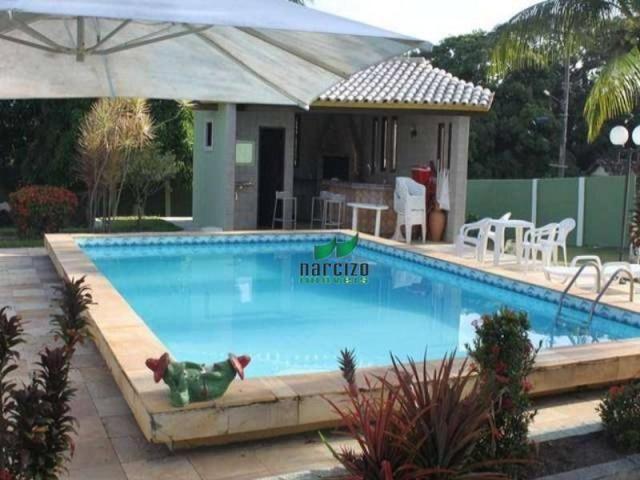 Chácara à venda, 4960 m² por r$ 800.000,00 - barra do jacuípe - camaçari/ba