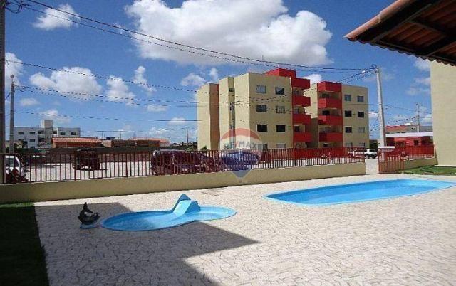 Apartamento com 2 dormitórios 70 m² - planalto - natal/rn