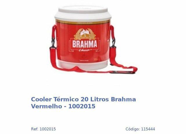 COOLER TÉRMICO DA BRAHMAAA 20 litros
