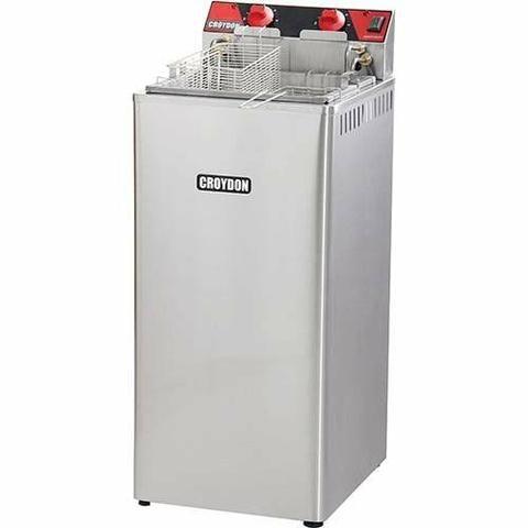 Fritadeira Elétrica Água e Óleo Croydon 8.000w