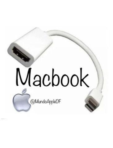 Cabo adaptador Macbook Mini DisplayPort para HDMI macbook hdmi cabo - Foto 2