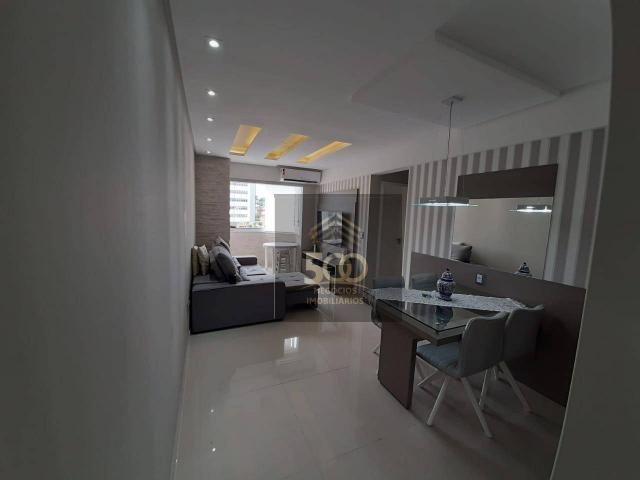 Apartamento com 2 dormitórios à venda, 60 m² por R$ 350.000 - Coqueiros - Florianópolis/SC