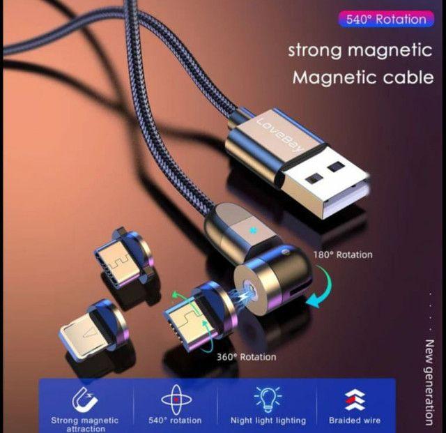 Cabo de carregador magnético - Foto 3