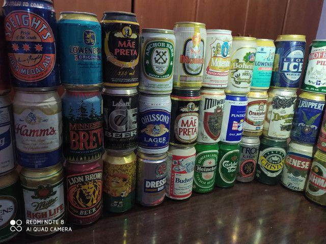 Coleção latas de cerveja antigas - Foto 3
