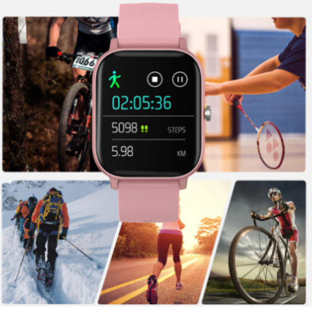 Relógio Smartwatch Colmi P8 esportivo fitness com frequência cardíaca/ tela touch IPX7 - Foto 5