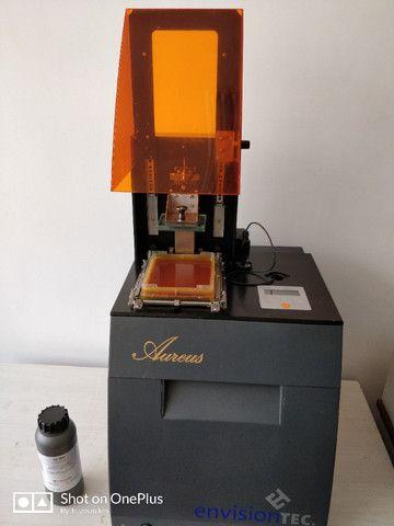 Impressora 3d Joias. Envisiontec Perfactory Aureus - Foto 3