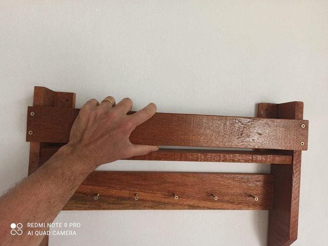 Porta chaves rústico - Foto 3