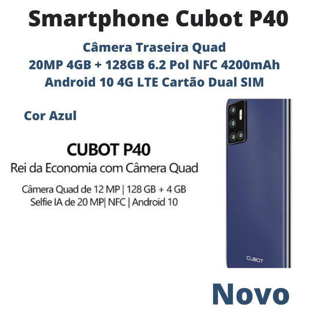 Smartphone Cubot P40 4GB + 128GB 6.2 Pol Nfc 4200mAh 4G Lte Cartão Dual Sim - Foto 3