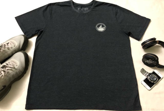 Camisa T-Shirt Cinza Masculina ZIP NAUTICA  - Foto 2