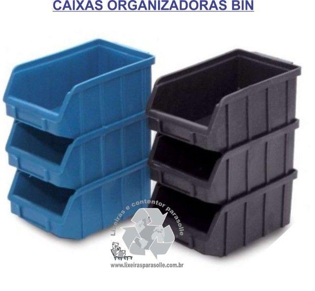 Caixas BIN5 organizadora KIT c/ 10 unidade - Foto 2