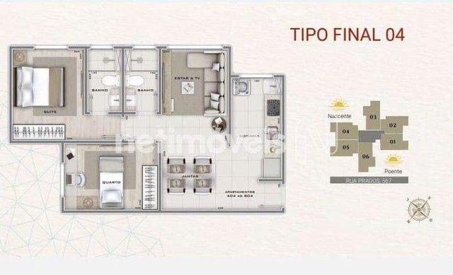 Apartamento à venda com 2 dormitórios em Carlos prates, Belo horizonte cod:849925 - Foto 9