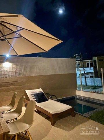 Apartamento térreo com área externa, 71m², projetados e com piscina privativa a beira mar  - Foto 10