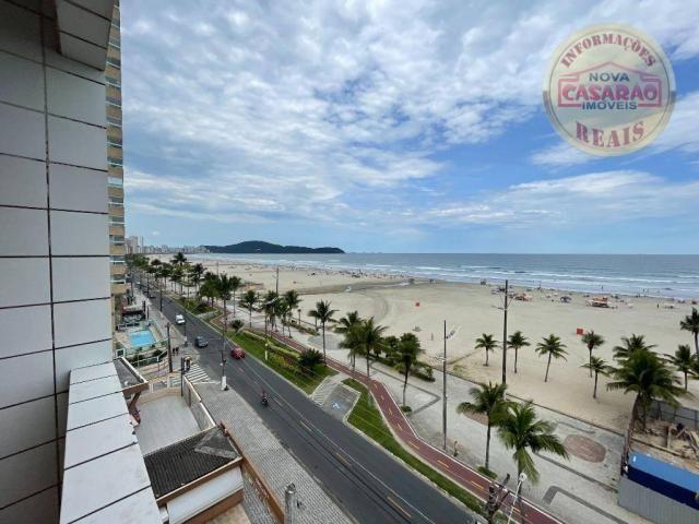 Apartamento com 2 dormitórios à venda, 72 m² por R$ 330.000 - Guilhermina - Praia Grande/S - Foto 6