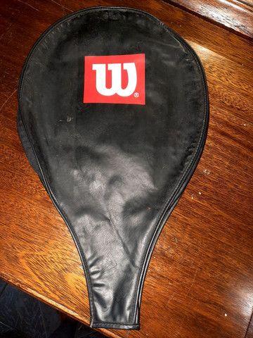 Capa raquete de tênis