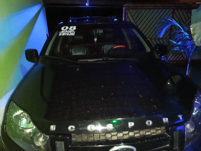 Ecosport preta, motor Duratec 2.0, Automática, R$23000,00 - Foto 4