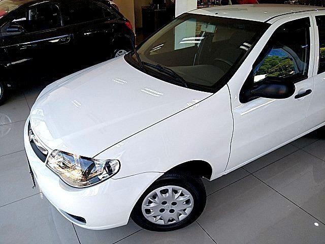 Palio 2012 Branco 04 portas com Ar Condicionado!