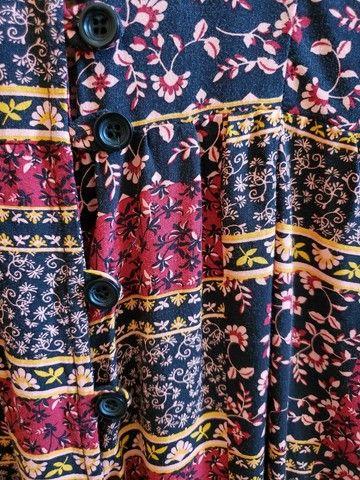 Blusa manga longa estampada - Foto 3