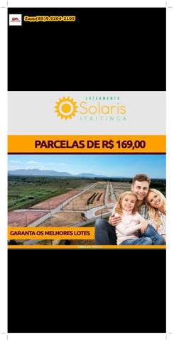 Lotes Solaris em Itaitinga:::: Invista já ::: - Foto 6