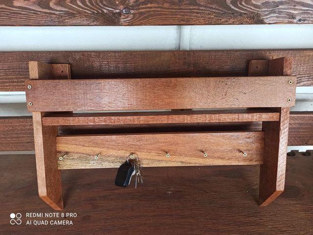 Porta chaves rústico - Foto 2