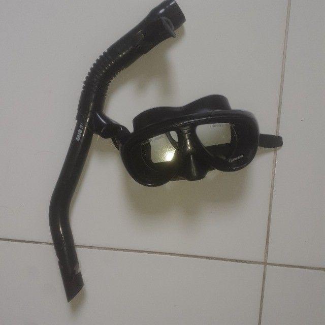 Máscara de mergulho com snorkel ( Fundive ) - Foto 3