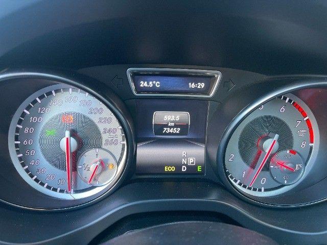 Mercedes CLA 200 Vision 1.6 Turbo 2015!! Carro luxuoso e econômico com 4 pneus novos. - Foto 13
