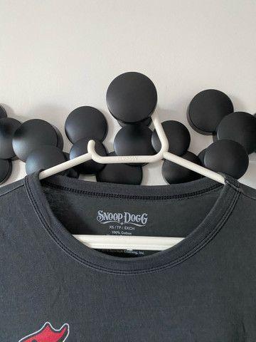 Camiseta cinza Snoop Dogg original - Foto 3