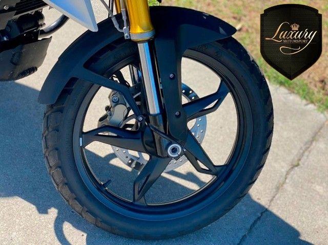 Motocicleta Bmw GS G310 2020 Preta com 600 KM - Foto 4