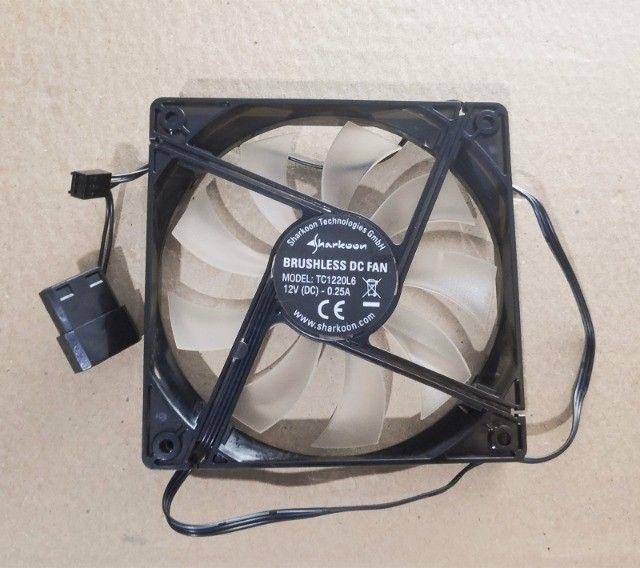 Fan Ventoinhas 120 mm para computador - Seminovo - Foto 3