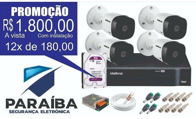 Cameras de segurança eletrônica