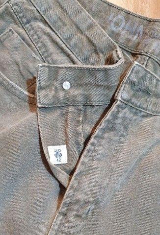 Calça jeans verde John John  - Foto 5