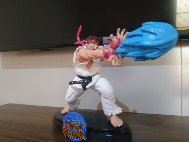 Action Figure Ryu Street Fighter - Foto 5