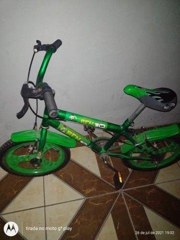 Bicicleta bem 10 Nova usada poucas vezes