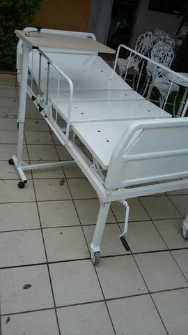 Cama hospitalares 2 alavancar. com colchão